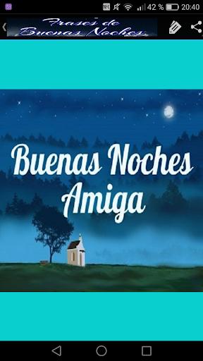 Frases Bonitas Buenas Noches Apps On Google Play