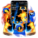 Fire & Ice Theme Launcher icon