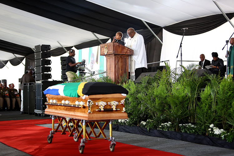 Funeral service for Billy Modise.