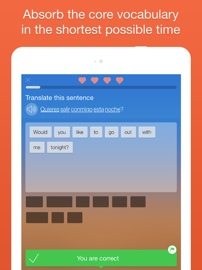 Learn languages Free - Mondly- screenshot