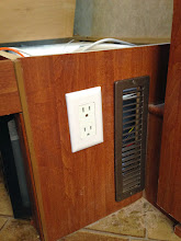 Photo: Furnace Drawer Mod: Added air intake vent