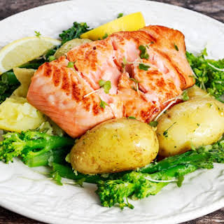 Salmon Broccoli Potatoes Recipes.