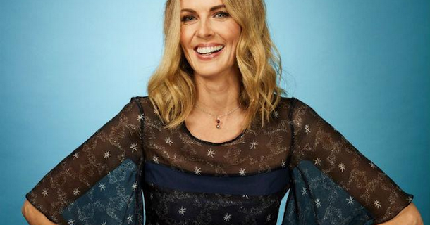 Donna Air suffers nasty fall
