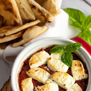 Fire-Roasted Tomato Goat Cheese Dip