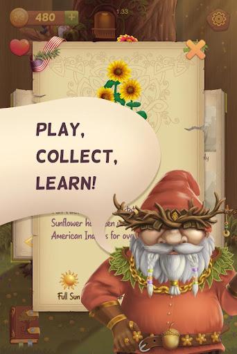 Flower Book: Match-3 Puzzle Game 1.76 screenshots 5