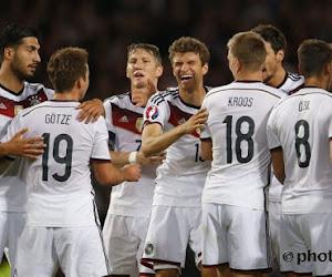 L'Allemagne sans un de ses cadres pour les deux premiers matches de l'Euro
