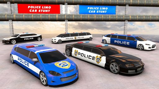 Police Limo Car Stunts GT Racing: Ramp Car Stunt modavailable screenshots 11