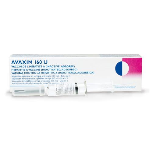 Vacuna Avaxim Hepatitis A Jeringa 1