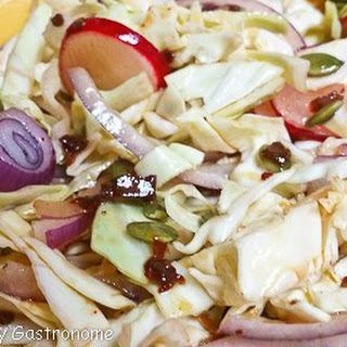 Cabbage Salad w/ Chipotle-Lime Vinaigrette
