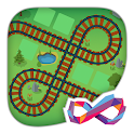 Gold Train FRVR - Best Railroad Connection Game icon