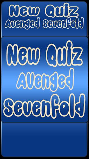 New Quiz Avenged Sevenfold