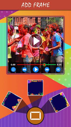 Holi HD Video Maker 2019  screenshots 3