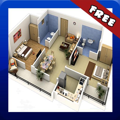 3d Home Floor Plans Screenshot