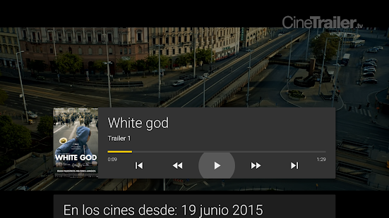 CineTrailer Cine & Cartelera Screenshot