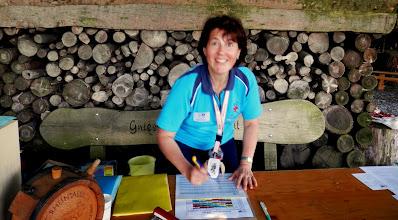 Photo: Doris, Postenchefin Po 5 im Element