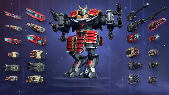 Robot Warfare Apk Mod Munição Infinita 4