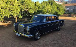 Mercedes-Benz Fintail Rent Western Cape