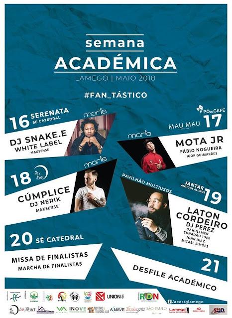 Programa – Semana Académica de Lamego – 2018