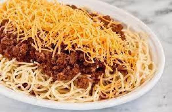 Cincinnati Style Chili Recipe