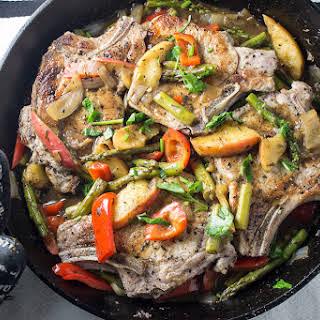 Skillet Pork Chop Dinner.