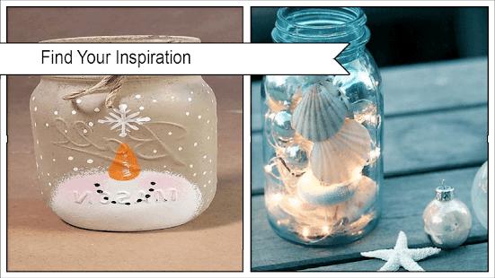 Awesome DIY Illuminated Holiday Jars - náhled