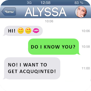 Fake SMS Girlfriend Joke for PC and MAC