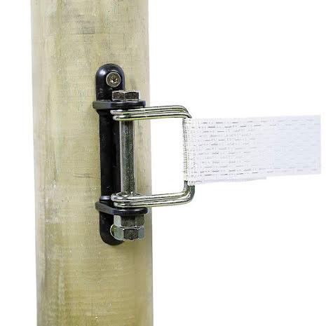 Hörnisolator med låsbygel för elband max 40 mm 10-pack