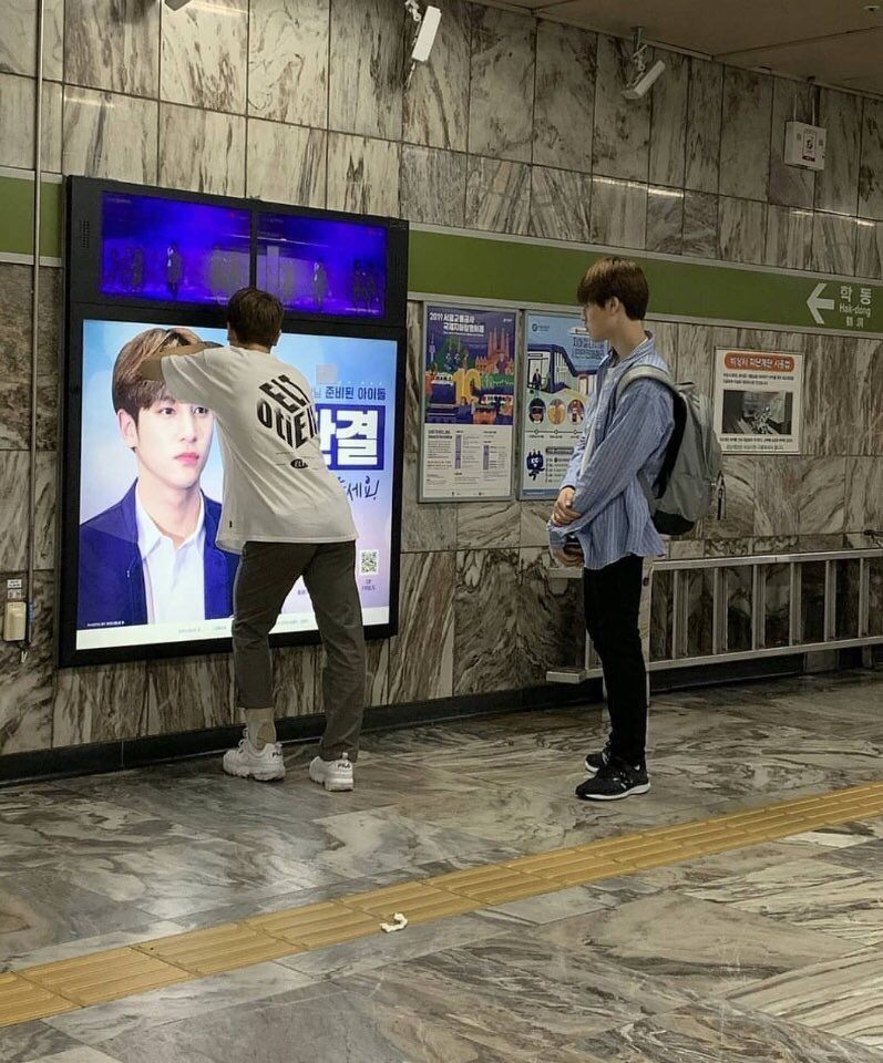 produce x 101 subway ad letter 6