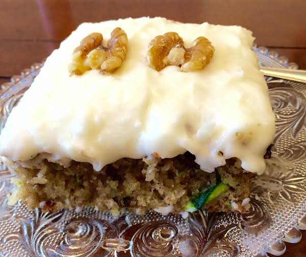 Zucchini Pineapple Coconut Cake By Noreen Recipe