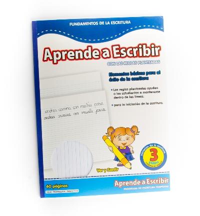 Cuaderno Aprende A Escribir 40Pag Aprende a Escribir