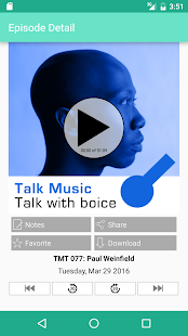 Talk Music Talk with boice- screenshot thumbnail