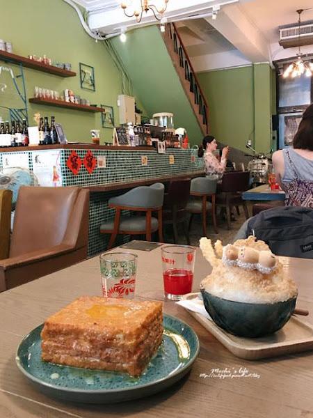 窩窩wooo:到香港舊電影場景吃港式早午餐+西多士@捷運北門站/大稻埕美食