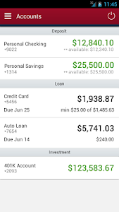 Affinity Federal Credit Union screenshot 1