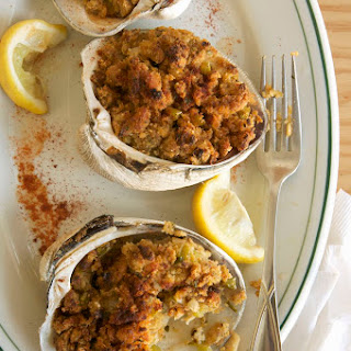 Stuffed Clams with Bacon (Deviled Clams).