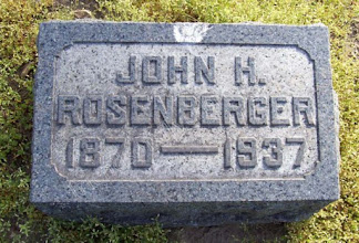 Photo: Rosenberger, John H.