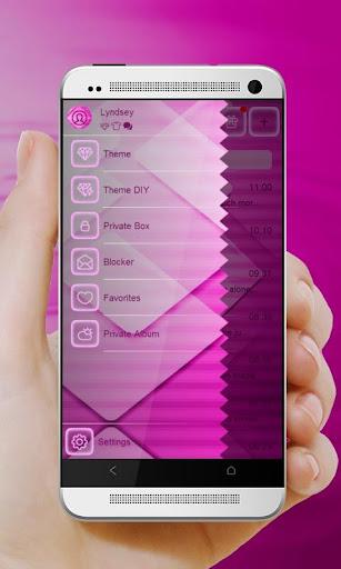 無料个人化AppのブリリアントピンクGo SMS|記事Game