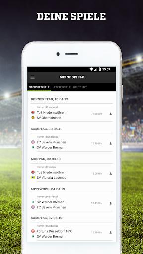 FUSSBALL.DE 6.9.11 screenshots 3