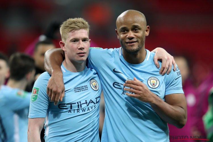 Kompany pakte zijn tiende prijs bij Manchester City