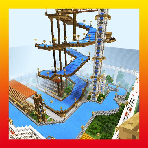 Hydropark. MCPE map