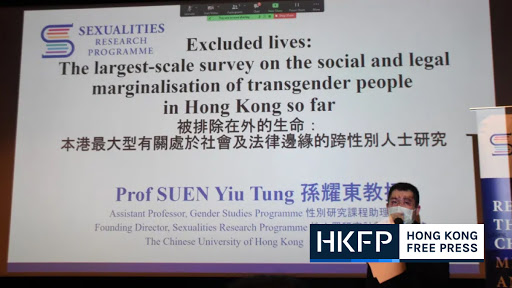 Half of transgender people in Hong Kong face discrimination, CUHK research shows