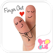 Cute Theme-Finger Art-