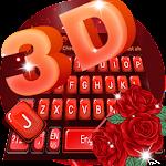 Red Rose 3D keyboard
