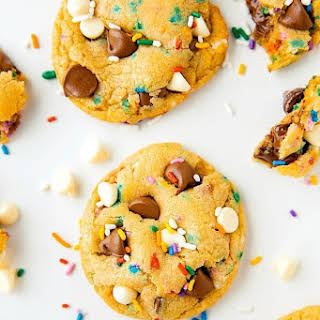 Soft-Baked Cake Batter Cookies.