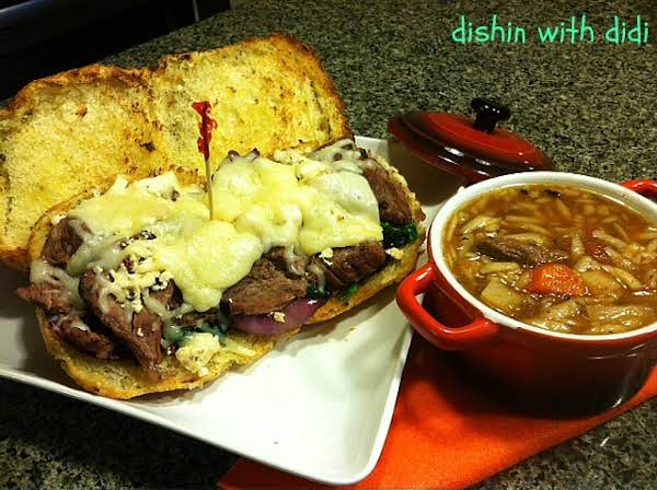 Who Say's Soup And Sandwiches For Dinner Have To Be Boring???