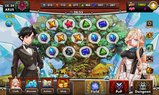 Monster Field : New Card RPG screenshot 8