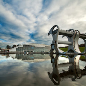 The Falkirk Wheel by Al Goold - Buildings & Architecture Other Exteriors