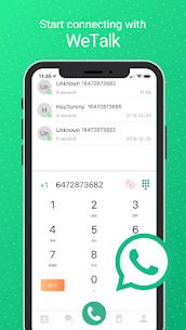 WeTalk – Free International Calling & Texting 1