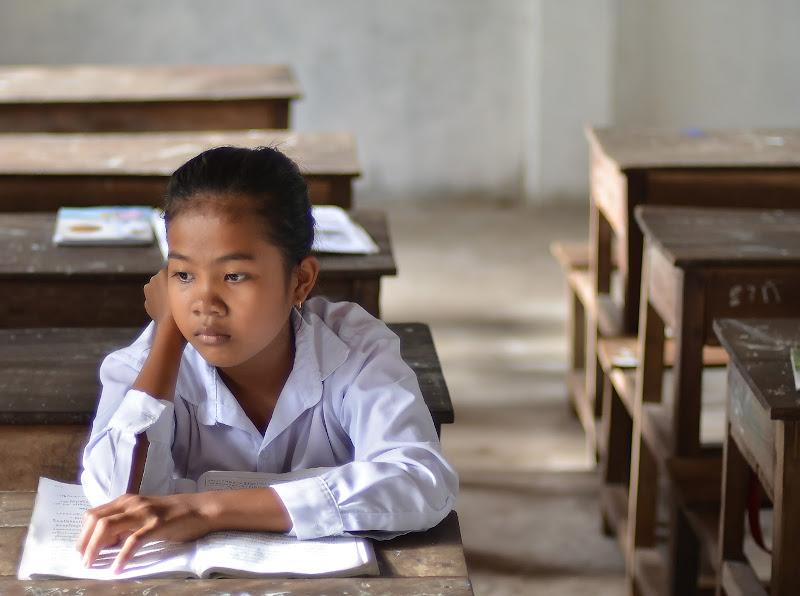 La speranza nasce tra i banchi di scuola di Migliu