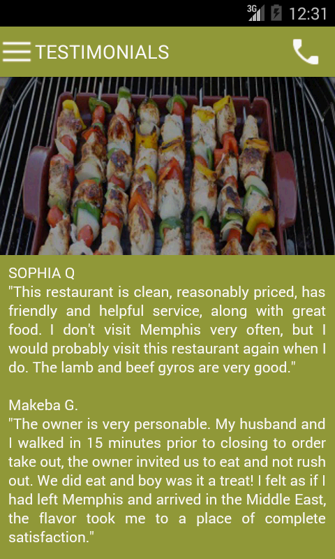 Kabob International- screenshot