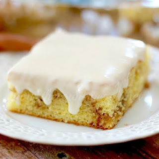 Honey Bun Cake.